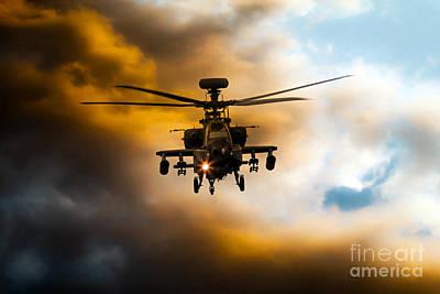 Apache Hunter  Poster by J Biggadike