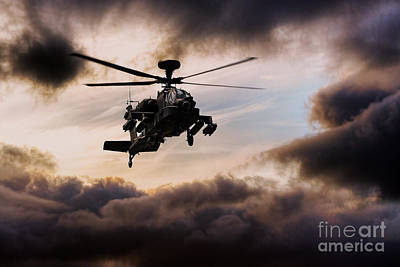 Apache Warrior  Poster by J Biggadike