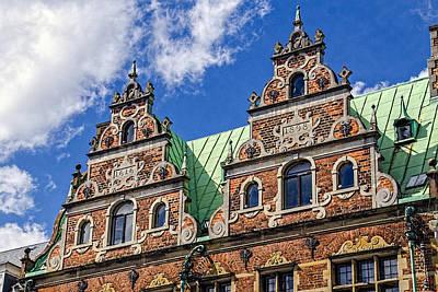 Apartment Facade - Nyhavn - Copenhagen Denmark Poster by Jon Berghoff
