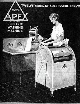 Apex Washing Machine, 1920 Poster
