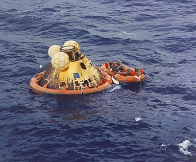 Apollo 11 Splashdown Poster