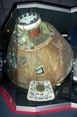 Apollo 13 Capsule. Poster