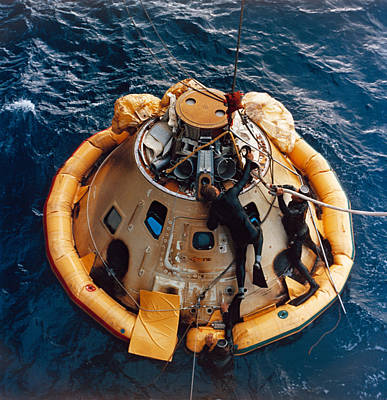 Apollo 6 Recovery, 1968 Poster by Science Source