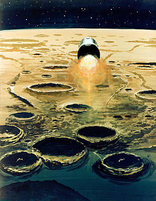Apollo 8, Lunar Orbit Mission, 1968 Poster by Science Source
