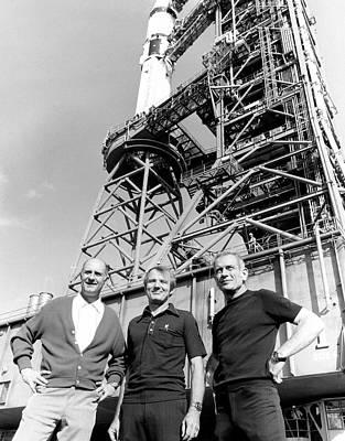 Apollo Soyuz Test Project Us Crew Poster