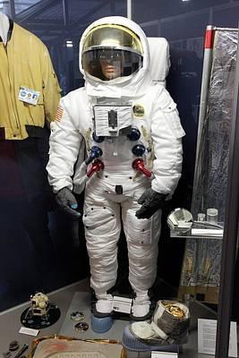 Apollo Spacesuit Poster