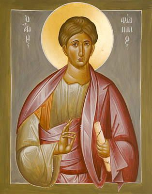 Apostle Philip Poster by Julia Bridget Hayes