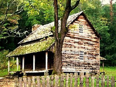 Appalachian Cabin Poster