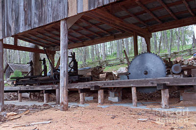 Appalachian Saw Mill Poster