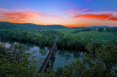 Appalachian Sunset Poster