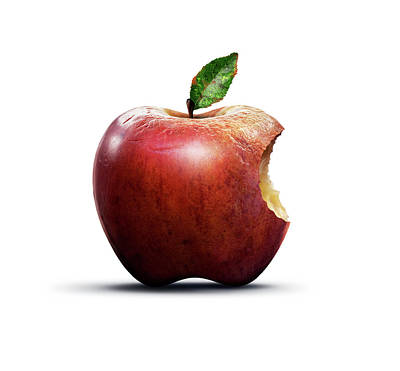 Apple Of Knowledge Poster by Smetek