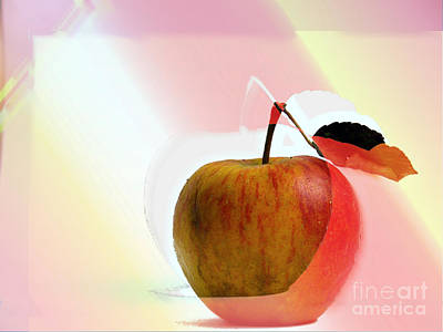 Apple Peel Poster