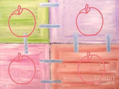 Apples 1 Poster by Patrick J Murphy