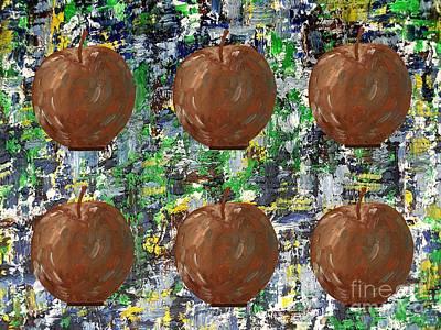 Apples 2 Poster by Patrick J Murphy