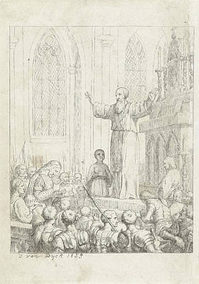 Appointment Of Bernulfus Bishop Of Utrecht Poster