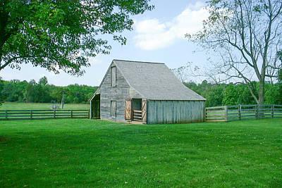 Appomattox Barn Poster