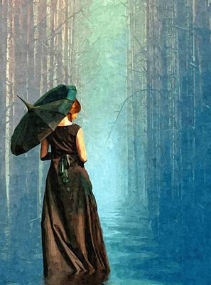 Apres La Pluie Poster