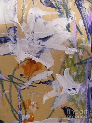 April Showers 1 Poster by Nancy Kane Chapman