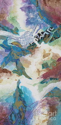 Aquacade Poster by Deborah Ronglien