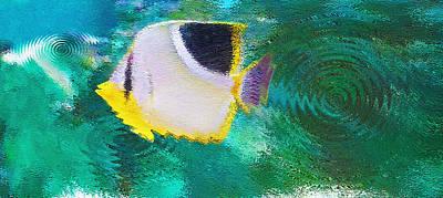 Aquarium Art 29 Poster by Steve Ohlsen