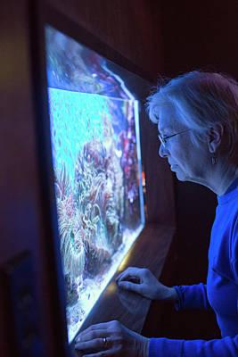 Aquarium Of Niagara Poster by Jim West