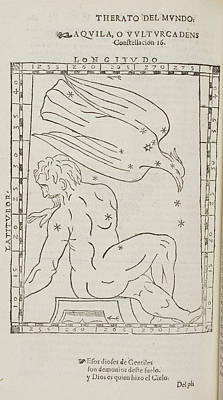 Aquila Star Constellation Poster by British Library