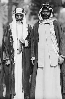 Arab Sheiks At Baghdad Palace Poster