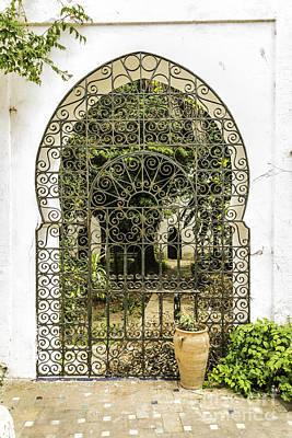 Arabian Door Poster