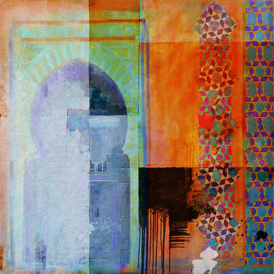 Arabic Motif 10 Poster by Corporate Art Task Force