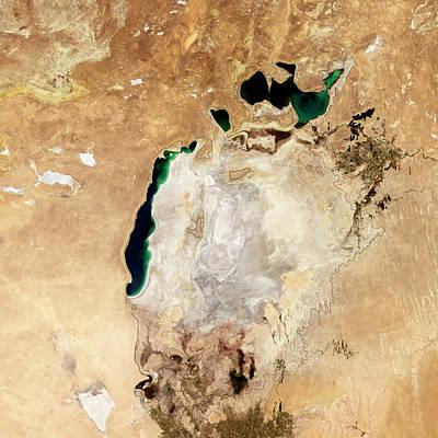 Aral Sea Poster