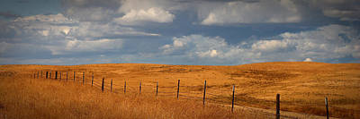 Arbuckle Fence Line Poster