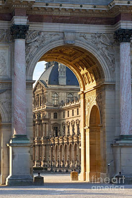 Arc De Triomphe Du Carrousel Poster by Brian Jannsen