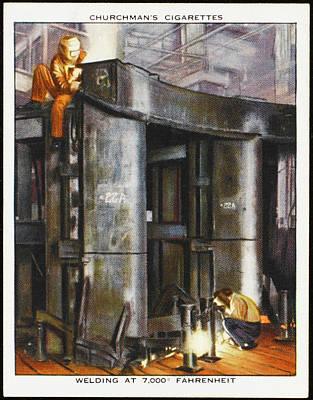 Arc Welding Equipment Using  An Poster