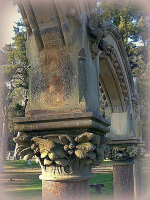 Arch Detail From Cemetery Poster