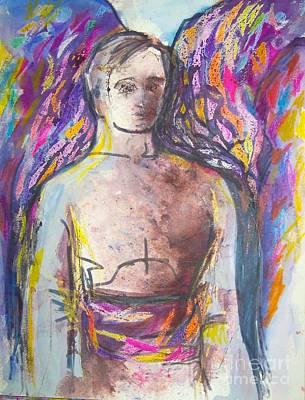Archangel Michael Poster by Jan Statman