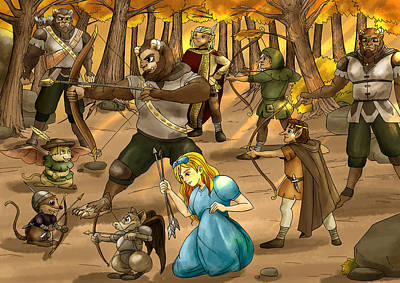 Archery In Oxboar Poster