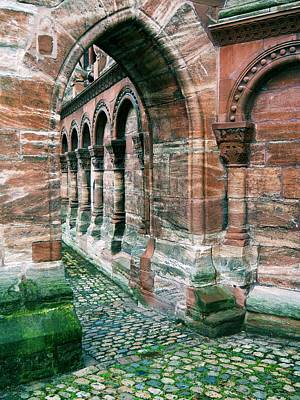 Arches And Cobblestone Poster