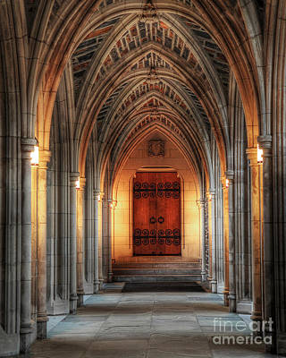 Arches At Duke Chapel Poster
