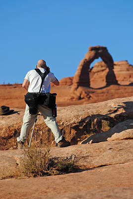 Poster featuring the photograph Arches Np 27 by Jeff Brunton