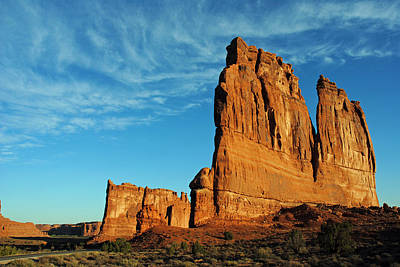 Poster featuring the photograph Arches National Park 47 by Jeff Brunton