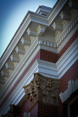 Architechture Morgan County Court House Poster by Reid Callaway