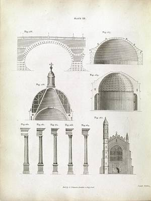 Architectural Structures Poster by Royal Institution Of Great Britain