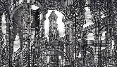 Architectural Utopia 11 Fragment Poster