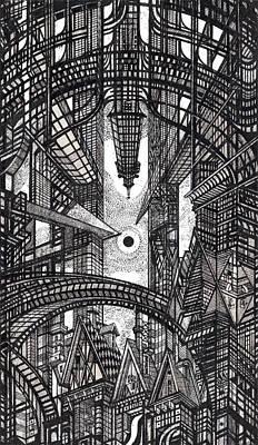 Architectural Utopia 13 Fragment Poster