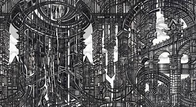 Architectural Utopia 9 Fragment Poster