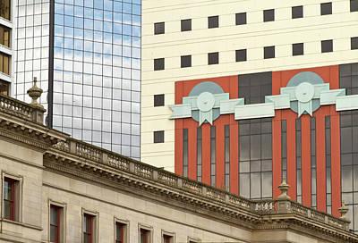 Architecture Of Portland, Oregon Poster