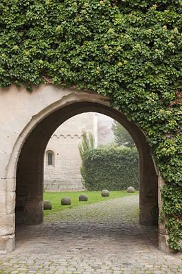 Archway Bebenhausen Abbey Poster