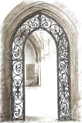 Archway Passage Poster by Heiko Koehrer-Wagner