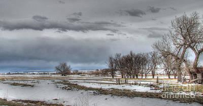 Ardmore Prairie Poster by Bill Gabbert