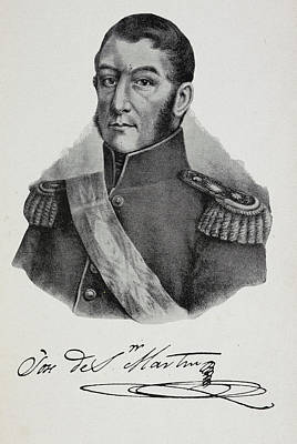 Argentinian Soldier In Military Uniform Poster by British Library